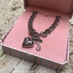 Juicy Couture locket necklace